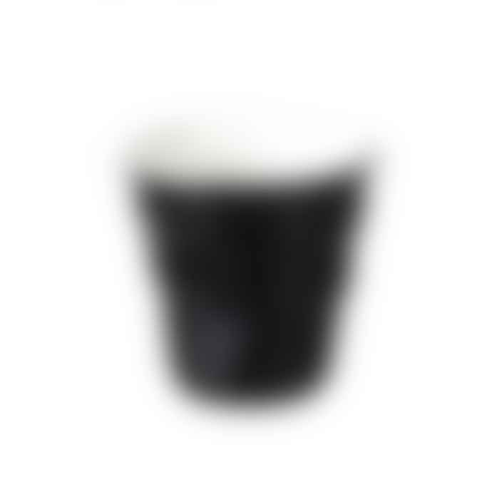 Parlane Black Porcelain Crushed Espresso Cup