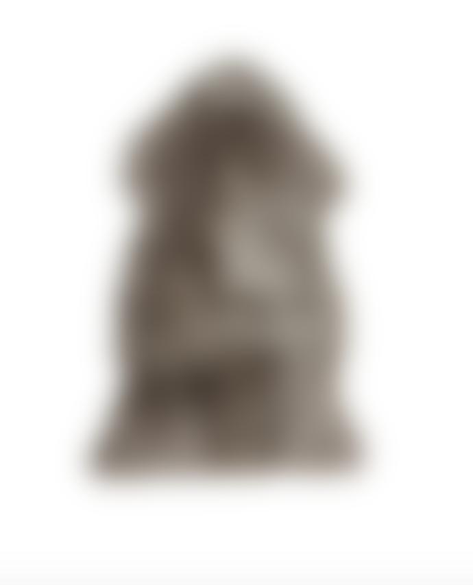 Luxury Single Sheepskin Rug in Vole Grey