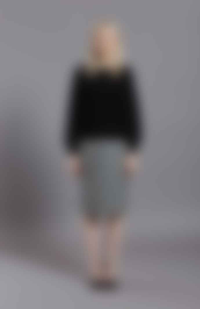 Frieda Sand Lauren Wool Skirt