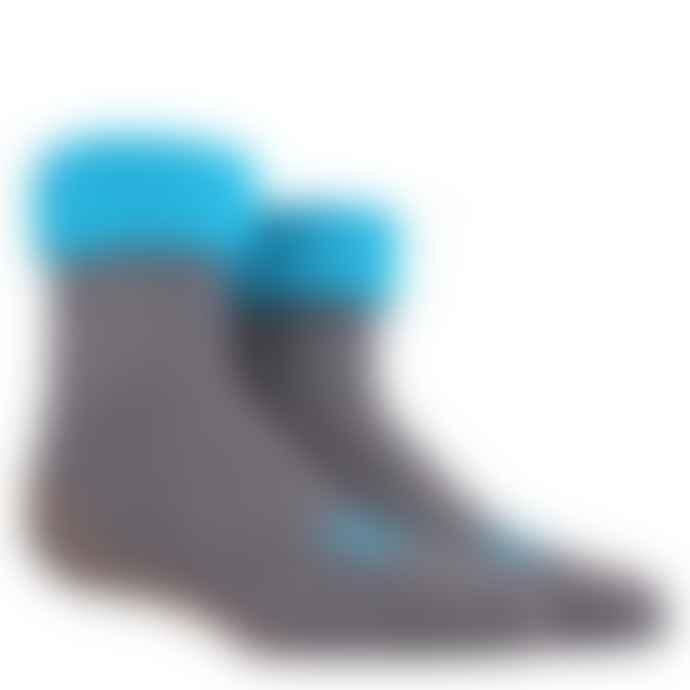 Dore Dore Unisex Grey Non Slip Socks