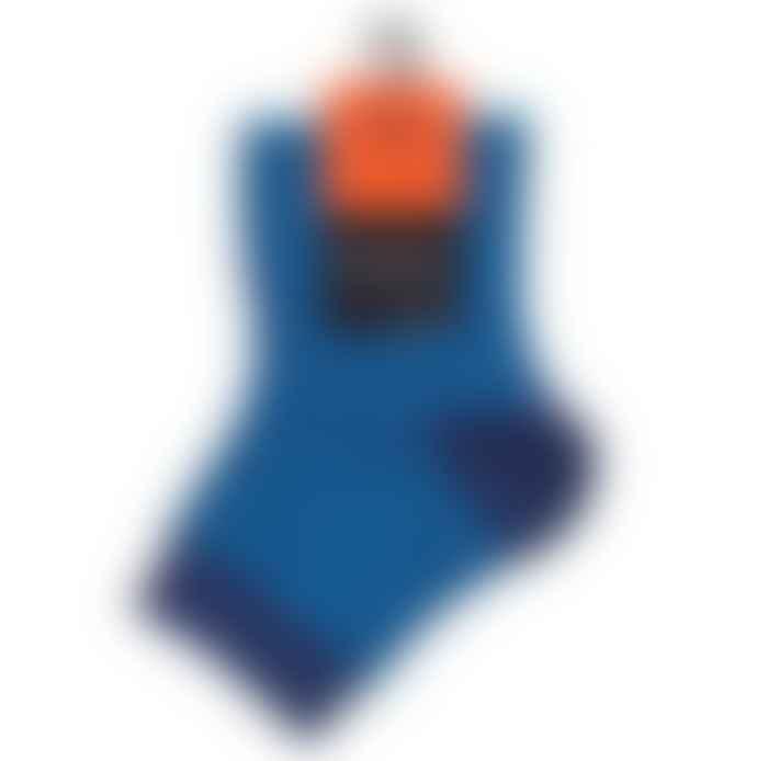 Dore Dore  Navy Blue Stripes Socks