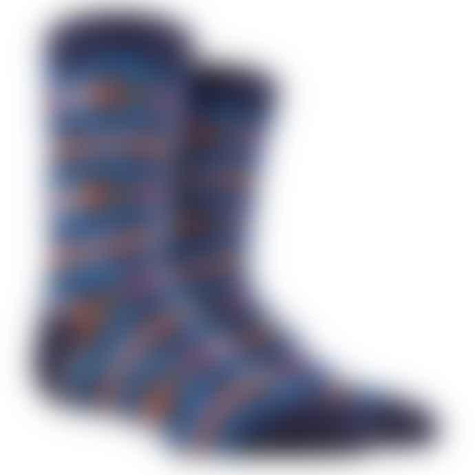 Dore Dore Blue Stripes Socks