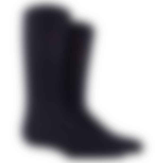Dore Dore Mid Calf Navy Blue Socks