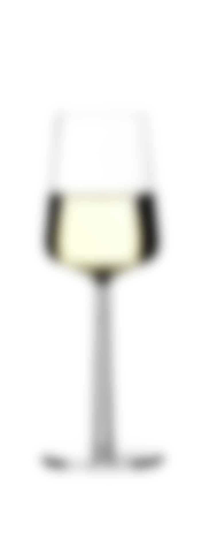Iittala   2 Pieces White Essence Wine Glasses
