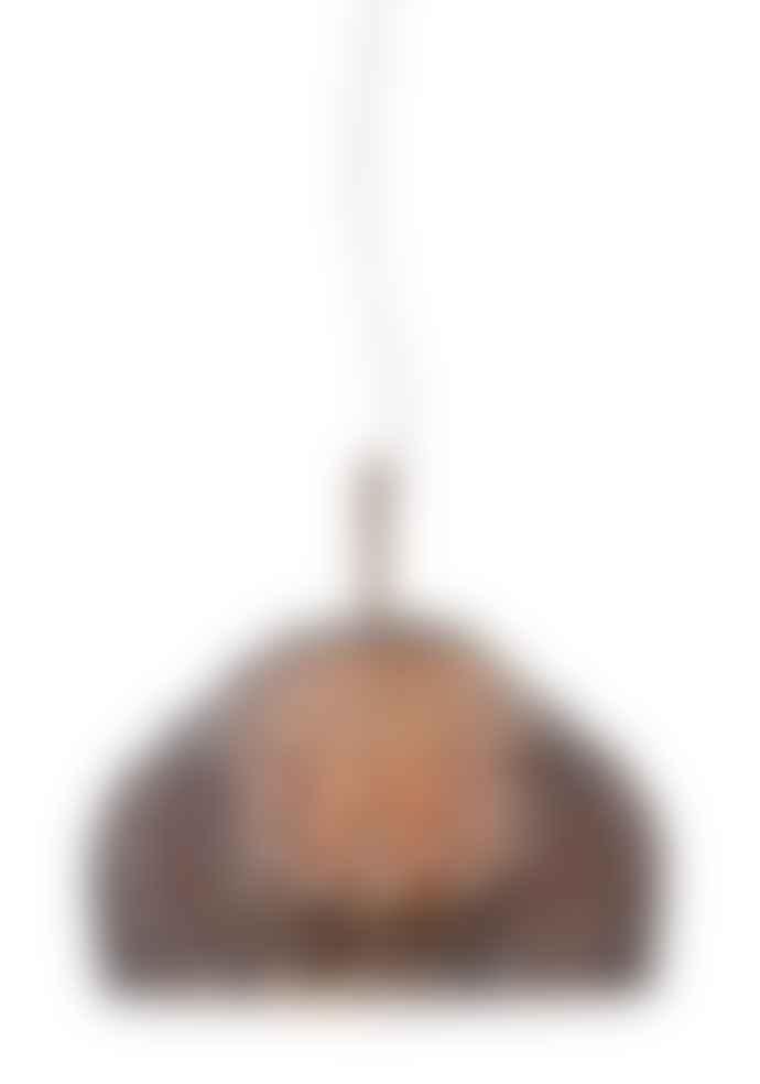 Flos Large Tatou Pendant Light 50cm Ochre-Grey