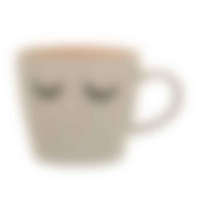Bloomingville Sleepy Ceramic Mug With Contrast Interior