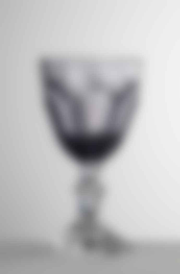 Mario Luca Giusti  Grey Dolce Vita Wine Glass