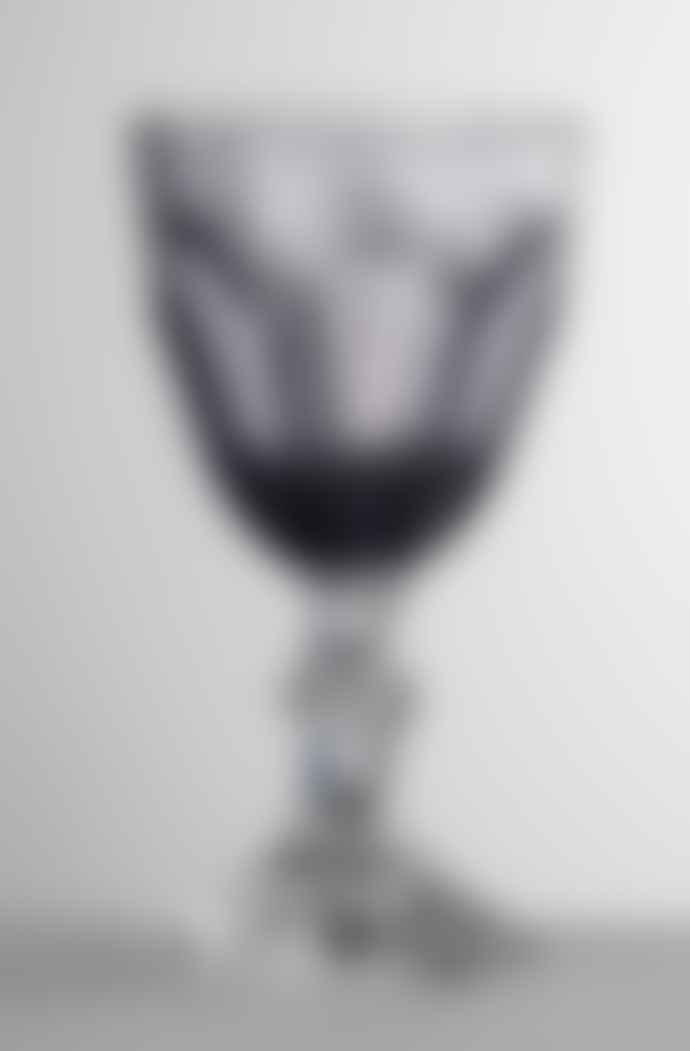 Mario Luca Giusti  Grey Dolce Vita Water Glass