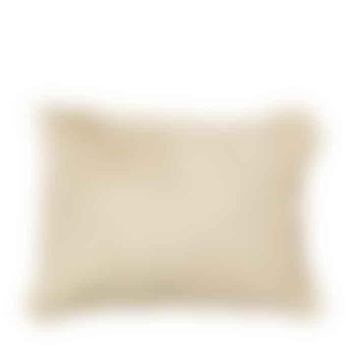Broste Copenhagen Light Tan Goatskin Cushion