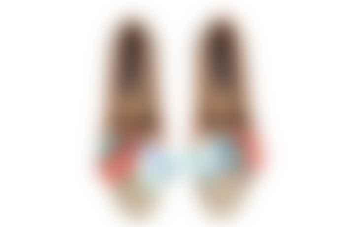 Taschka UK6 Jai In Bloom Slipper Shoes