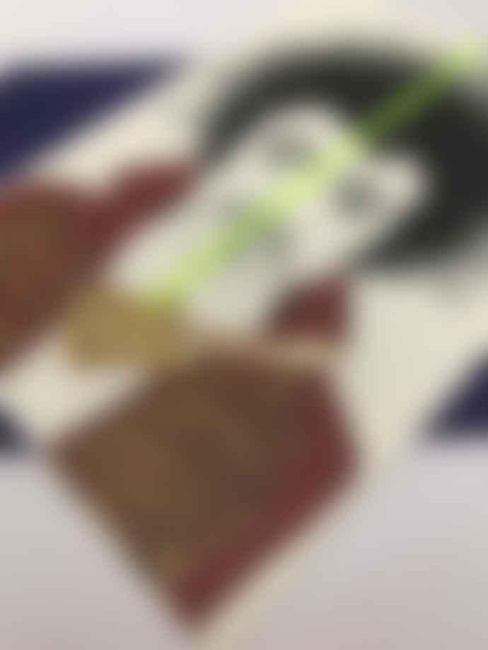 Butt Jimi Hendrix Card with Acrylic Charm