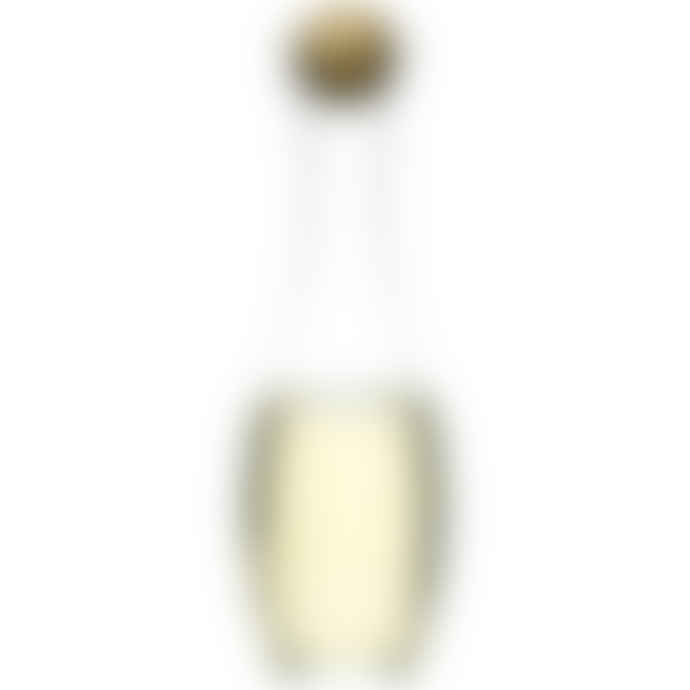Distinctly Living White Wine Carafe With Oak Stopper
