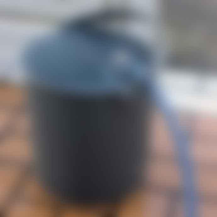 Hachiman Omnioutil Storage Bucket & Lid Large in Dark Grey