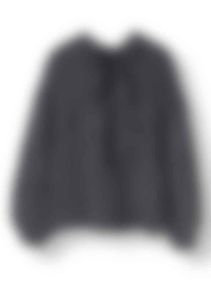 Ganni Ebony Julliard Mohair Pullover