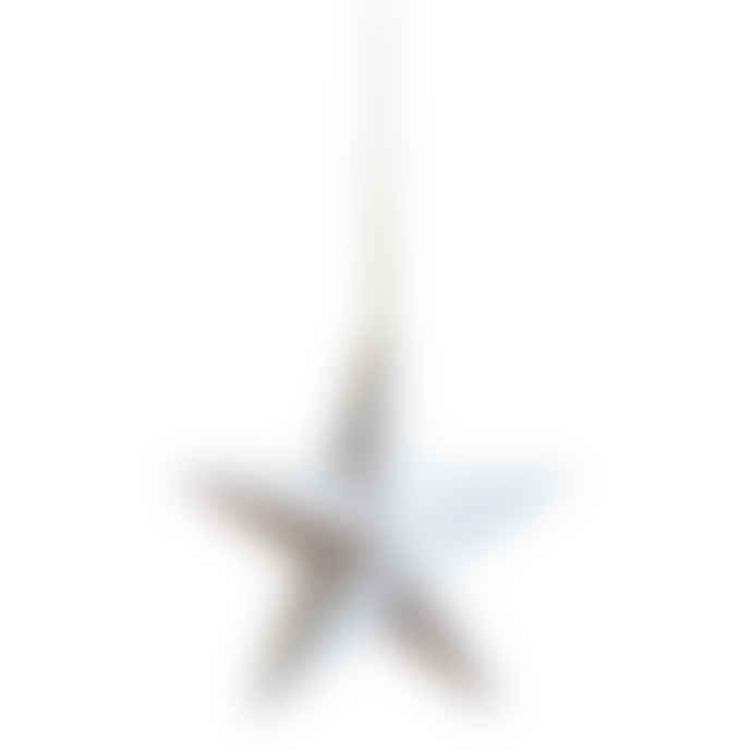 Freight HHG A Pair of Small White Bone China Star