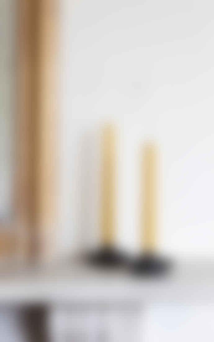 Freight HHG Black Basalt Candle Holder