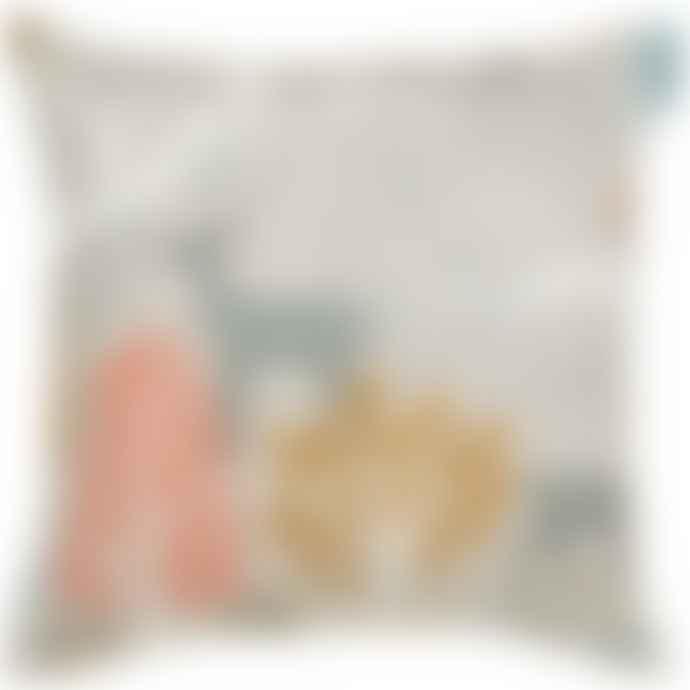 Spira of Sweden Mustard Sagoskog Cushion