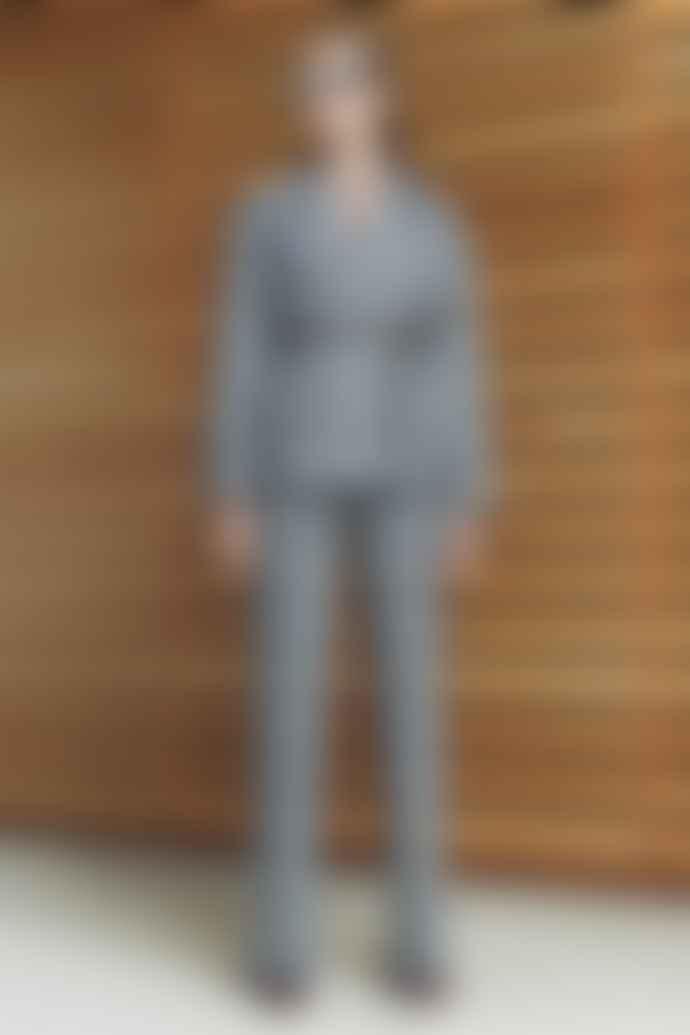 Markus Lupfer Blush Grey Brooklyn Check Trousers
