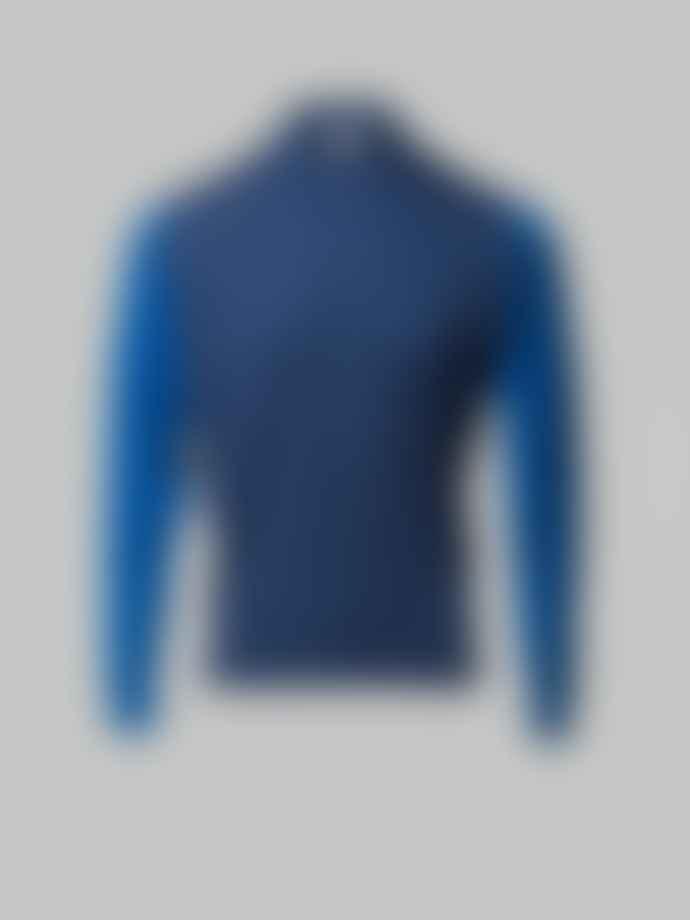 John Smedley Blue & Evening Sky Brightgate Polo
