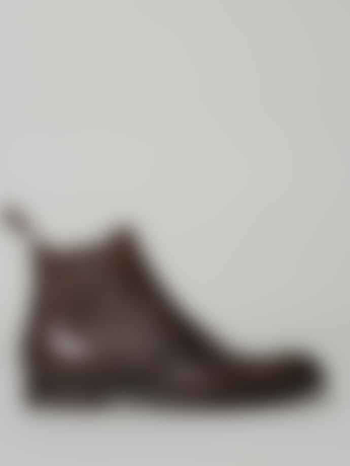 Cheaney Mocha Leather Brummel Chelsea Boot