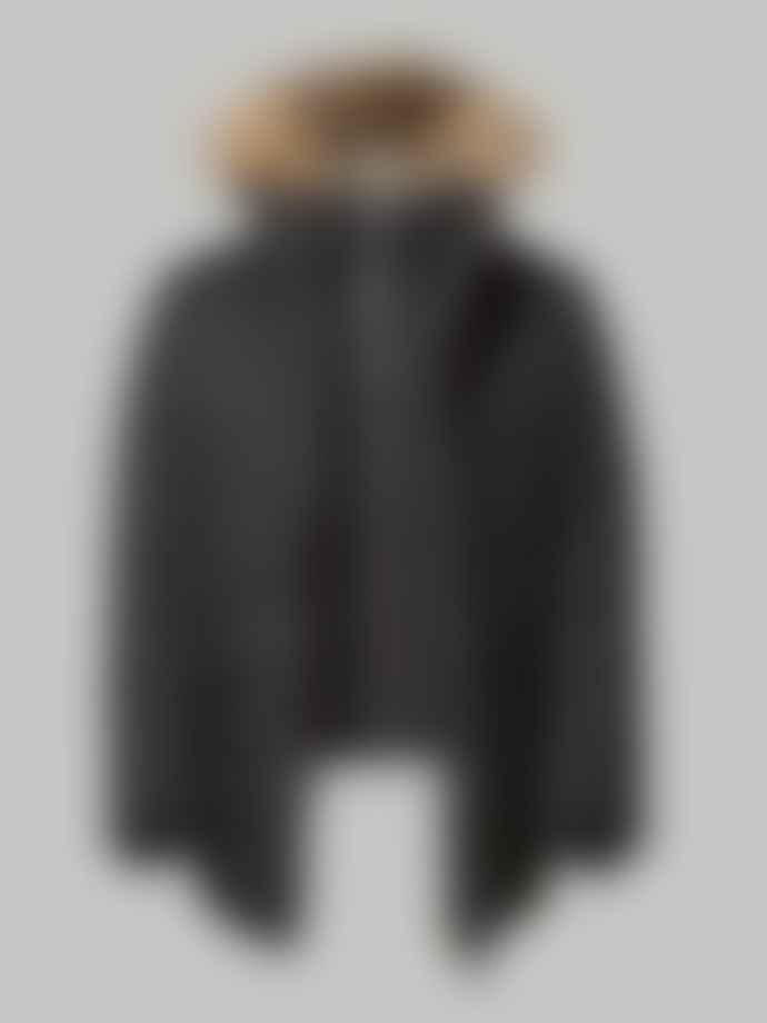 Mackage Black Edward Parka With Fur Jacket