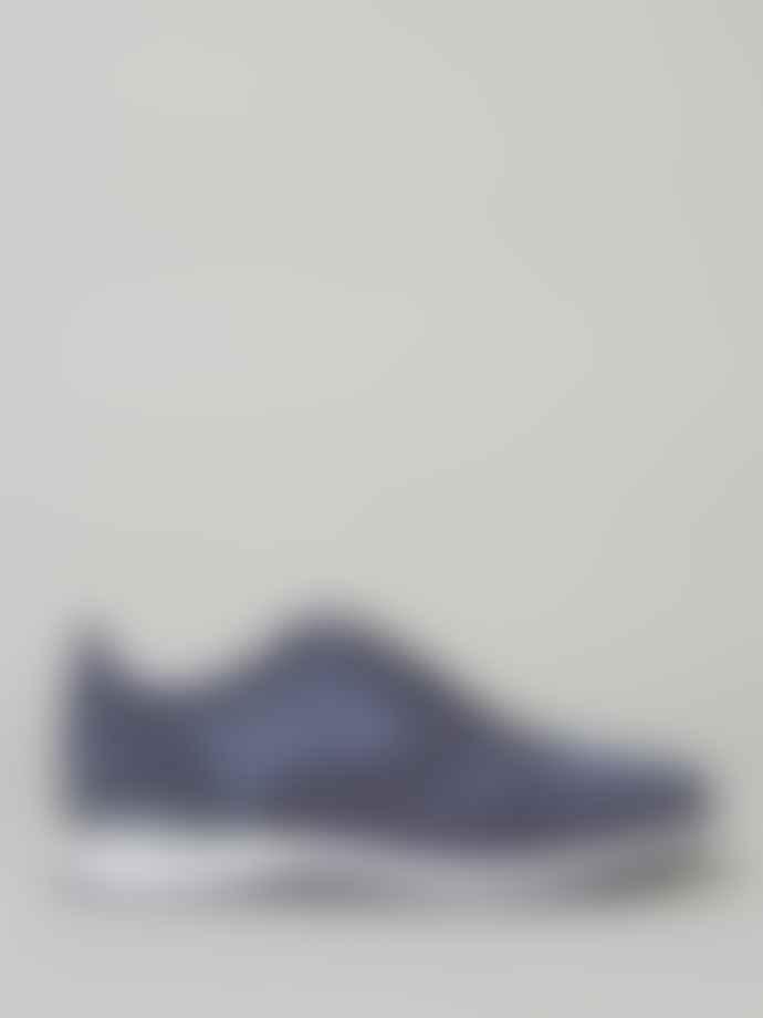 Corneliani Blue Suede Dress Trainer