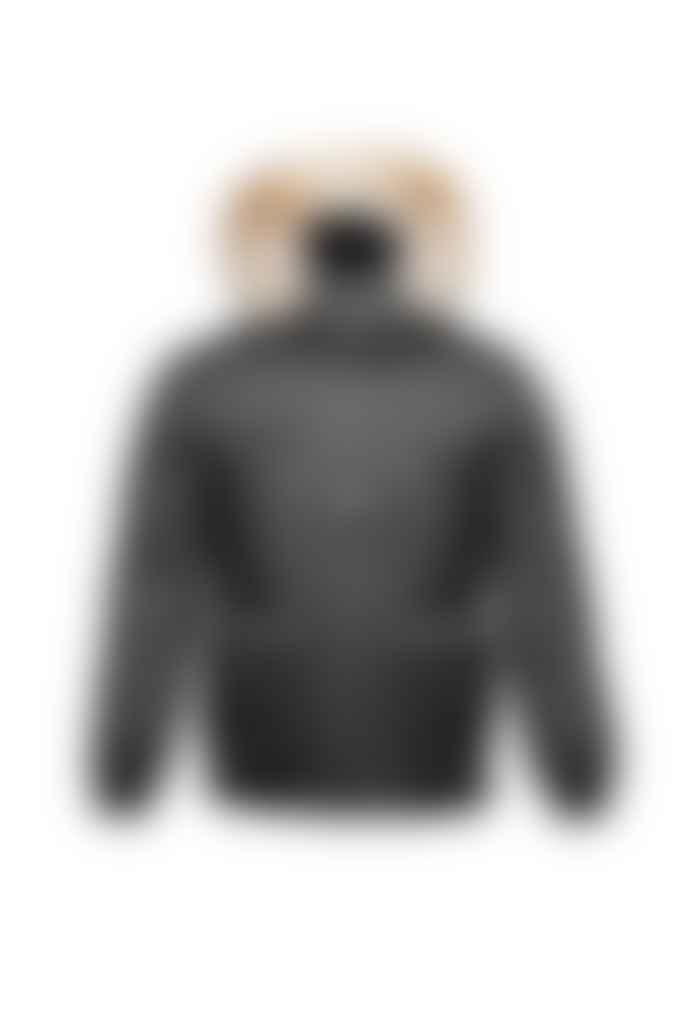 Nobis Grey Steel Higgins Bomber Jacket