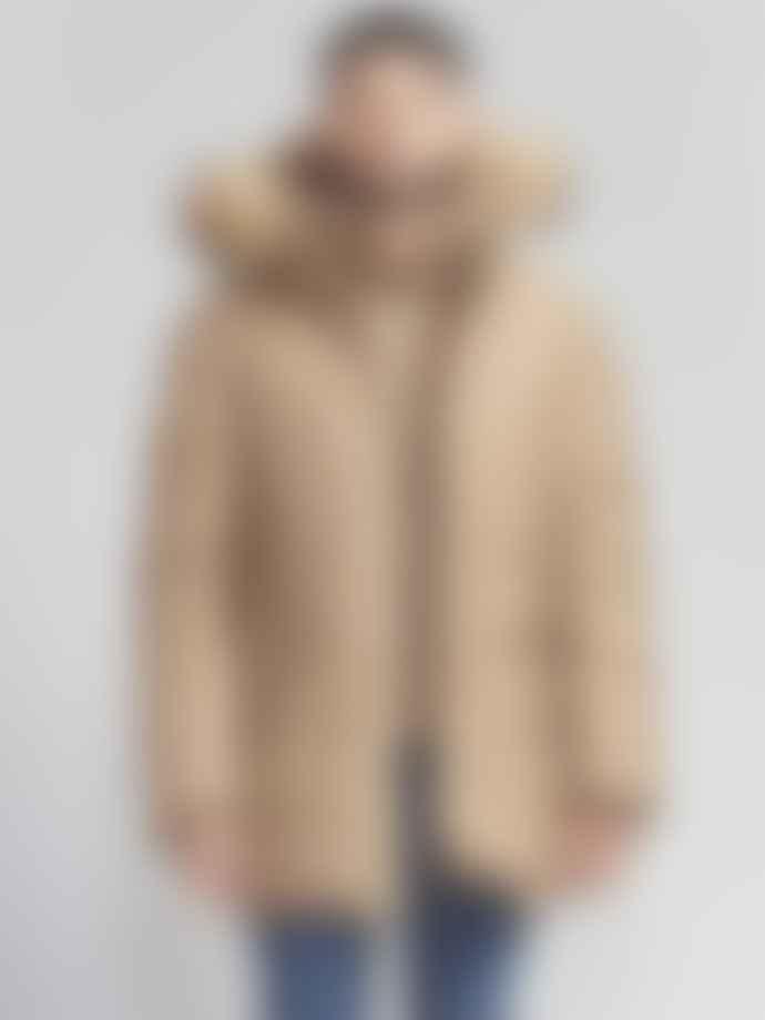 Mackage Camel Edward Parka With Fur Jacket