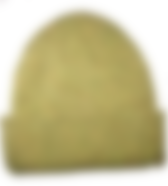 Cuemars Yellow Mustard Merino Wool Beanie