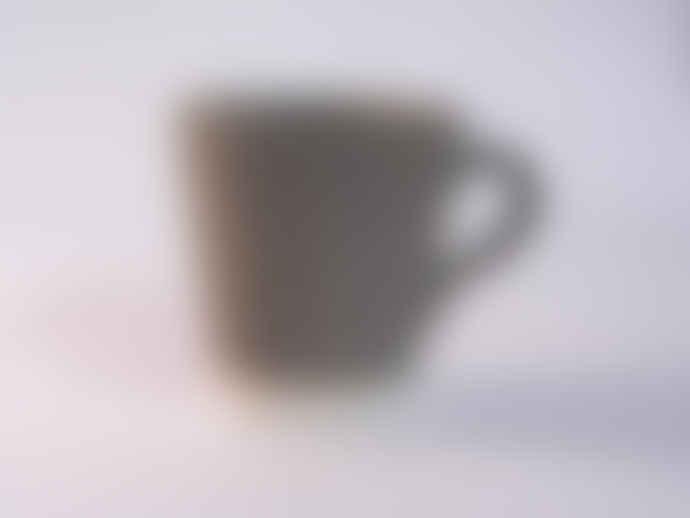 Eve Small Khaki Matt Mug