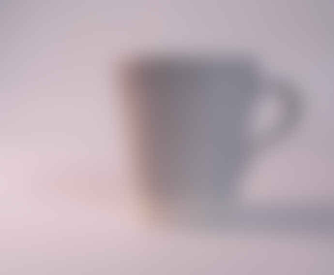 Eve Small Pale Grey Gloss Mug