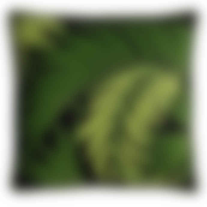 Jan Constantine Tropical Palm Leaf Cushion