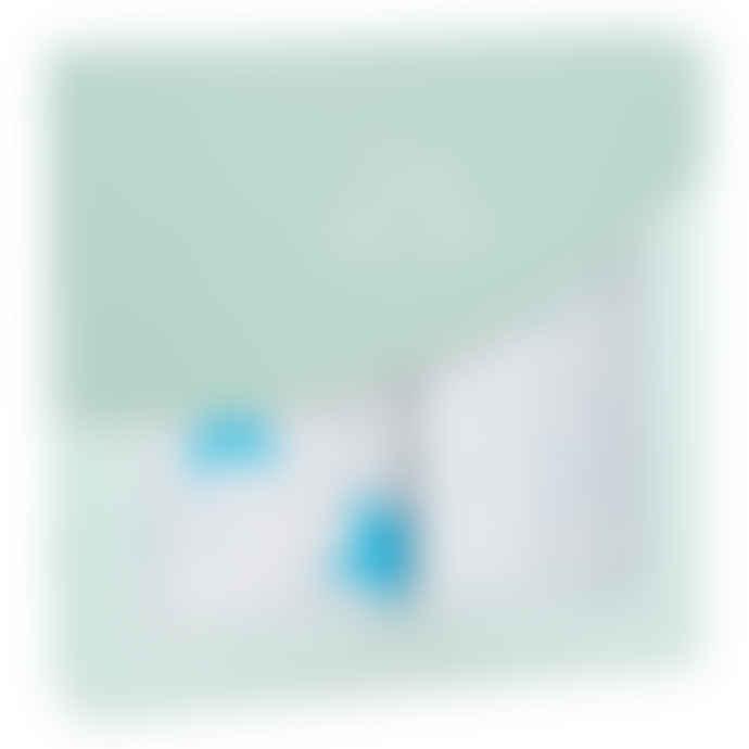 Aden + Anais Fluro Blue Star Swaddle 2 Pk