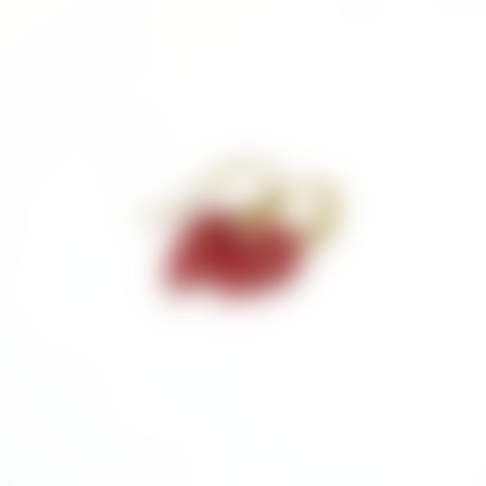 mounir LONDON Red Quartz Teardrop Earrings