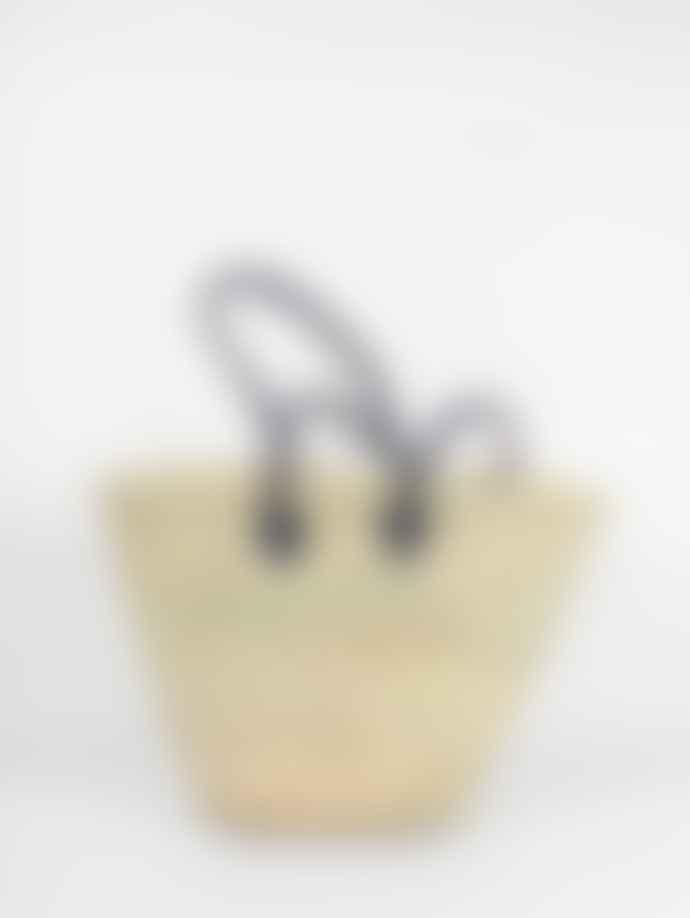 Bohemia Souk Palm Leaf Shopping Basket