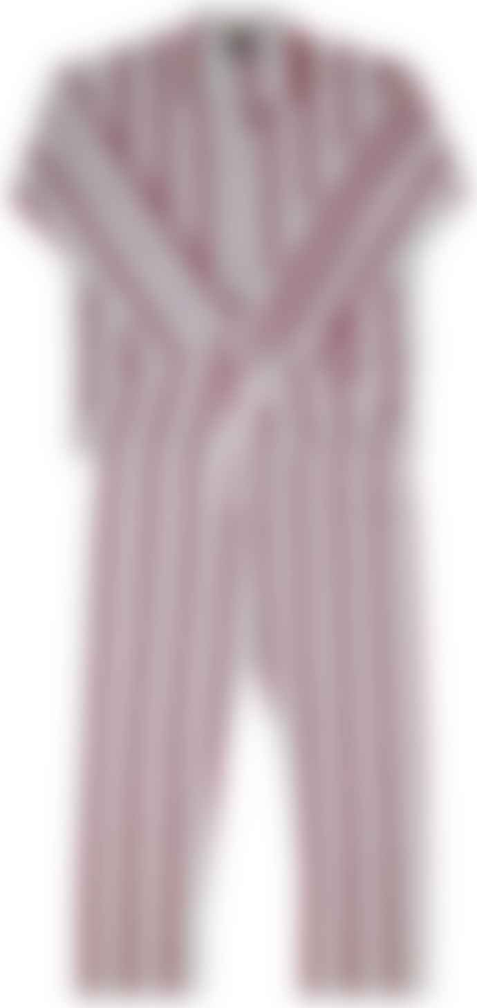 Wine Luxury Brushed Cotton Pyjamas