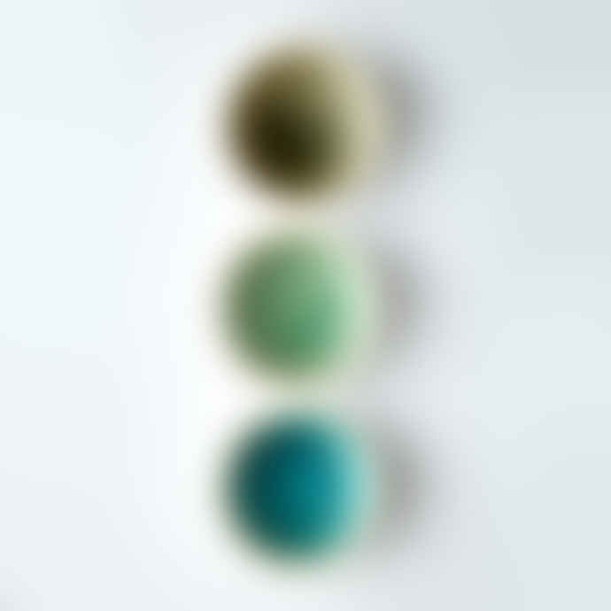 Rex London Grey, Turquoise or Sage Green  Small Ceramic Bowls