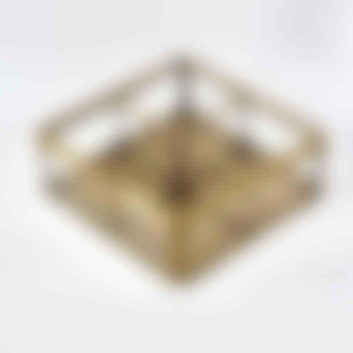 Rex London Brass Jewellery Box