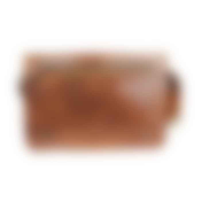 ismadlondon Victor Leather Messenger Bag