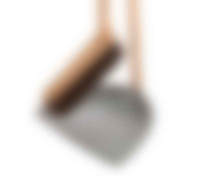 Iris Hantverk  Tall Dustpan & Brush Set Grey