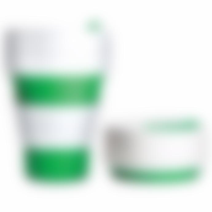 Stojo Green Stojo 12oz   Reusable Collapsible Cup