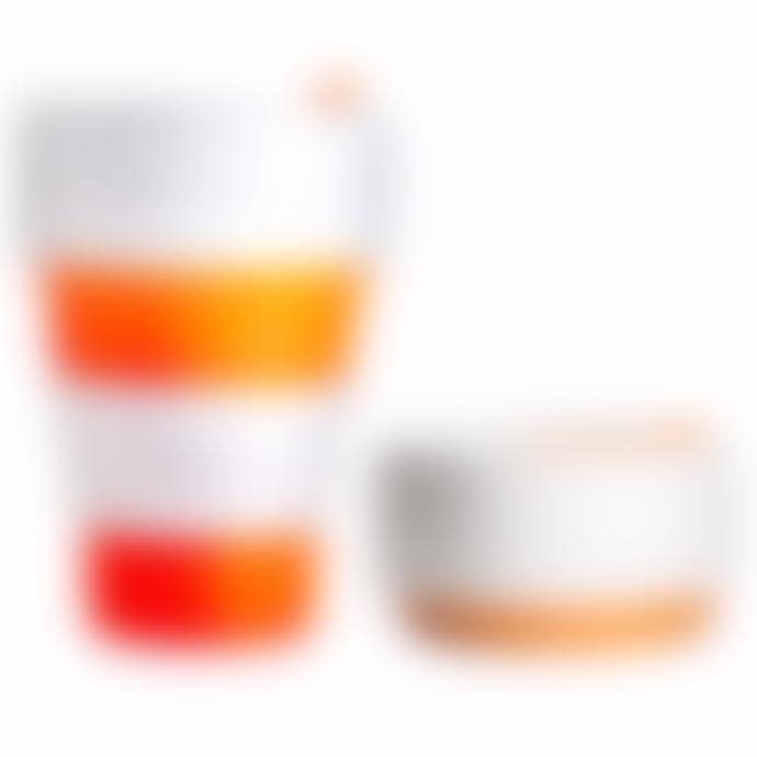 Stojo Orange Stojo 12oz | Reusable Collapsible Cup