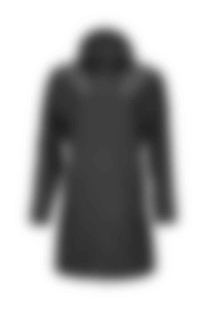 Rains Black W Coat