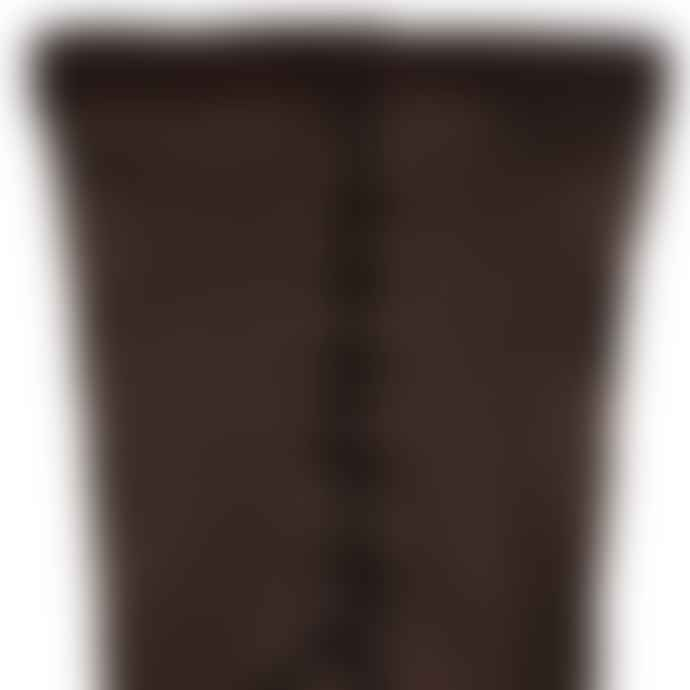 Dore Dore Brown Ribbed Tights