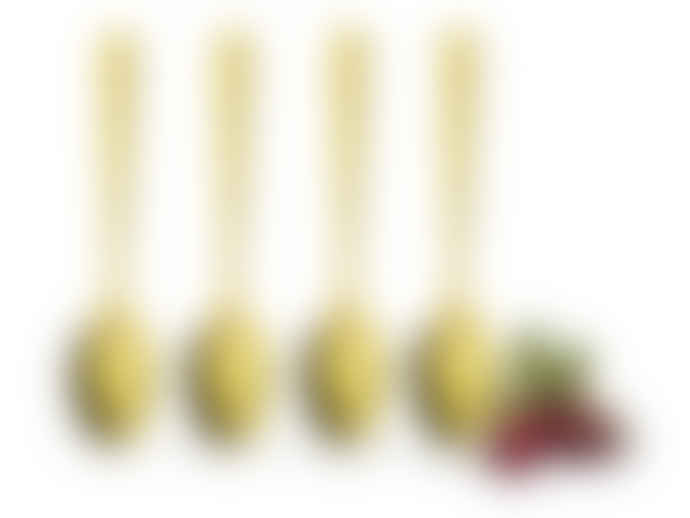 Sagaform Gold Tea Spoons (Set Of 4)