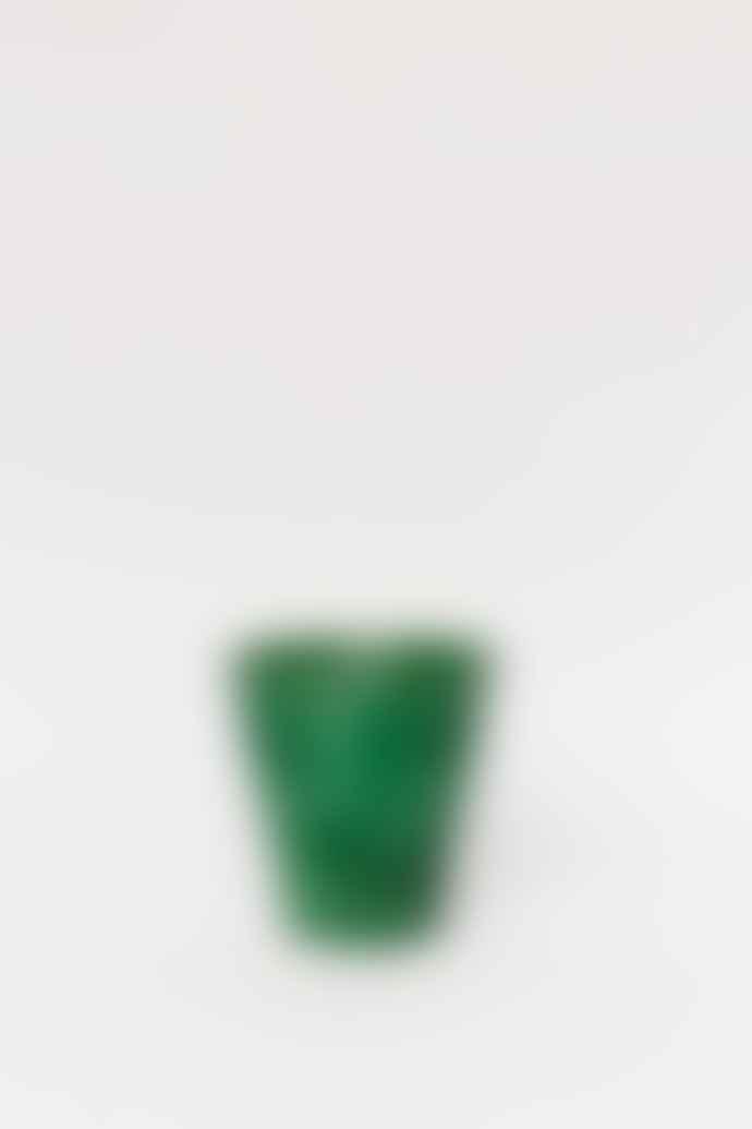 Forest Large Green Glazed Pot