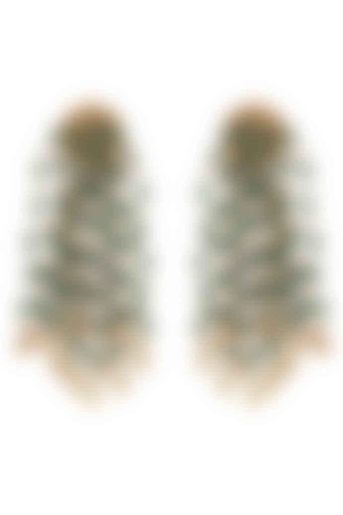 Carousel Jewels  Green Onyx Waterfall Earrings