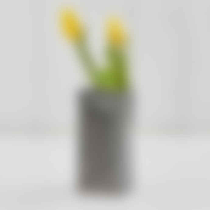 Stolen Form Grey Brick Vase