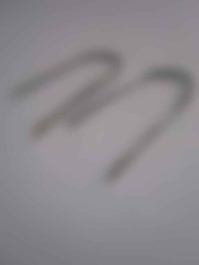 CollardManson 925 Silver Staple Earrings