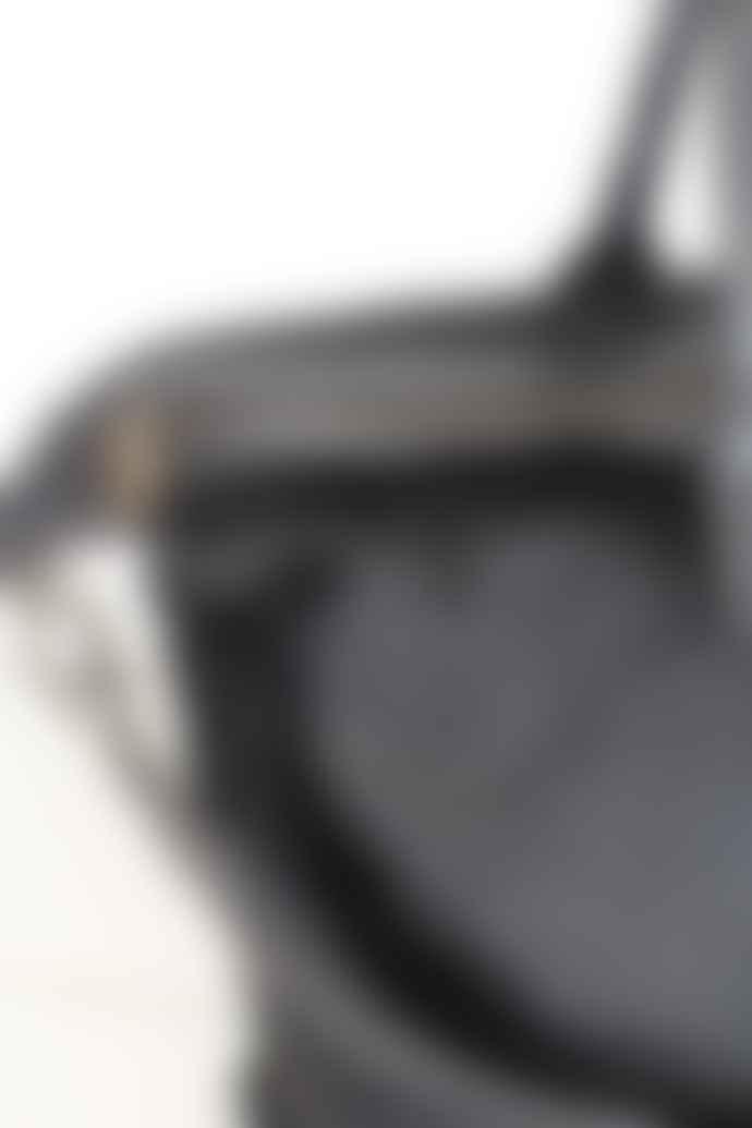 CollardManson Elke Black Hair Leather Bag